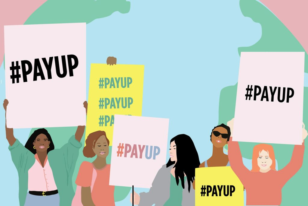 #PayUp campaign - remake