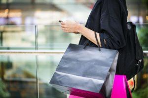 Fast Fashion Shopping bags