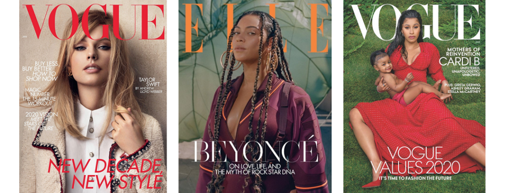 January Vouge Covers