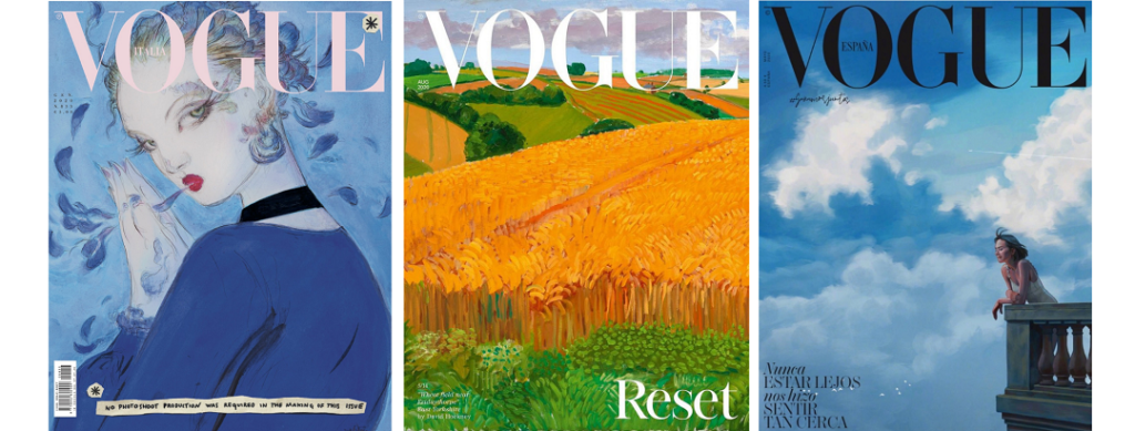2020 covers of Vogue Magazine
