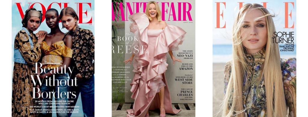 April 2020 Fashion Magazine Covers