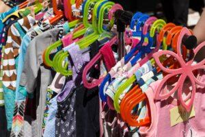 second hand clothe rack